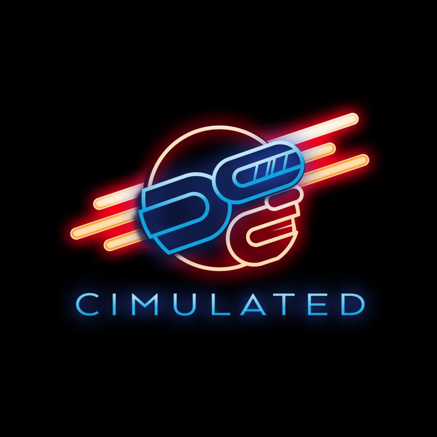 Cimulated Logo Final Neon Version