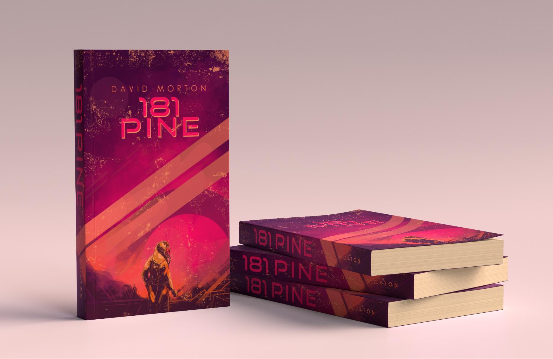 181 Pine Book Cover Mockup 1