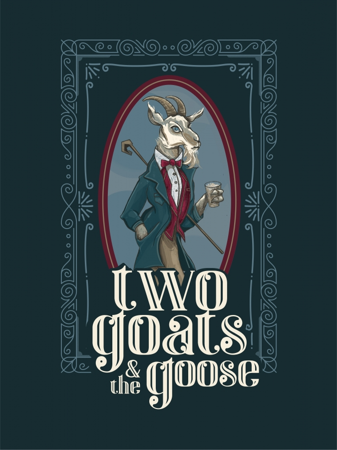 Two Goats and The Goose Logo_ Goat and Goose V5-01